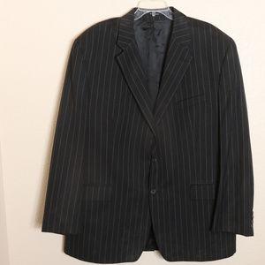 Chaps Ralph Lauren Men's Jacket Sz 50 T Coat Black